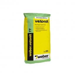 Штукатурка  Weber.Vetonit ТТ универсальная влагостойкая 25 кг