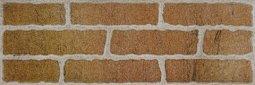 Плитка для стен Сокол Кремль KS-1-3 оранжевая полуматовая 12х36.5