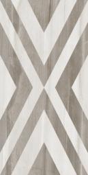 Плитка для пола Golden Tile Savoy Rhombus 000018 Серая 307х607