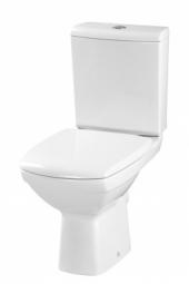 Унитаз напольный Cersanit Carina New Clean On 011 с сиденьем Slim дюропласт S-KO-CAR011-3/5-COn-S-DL
