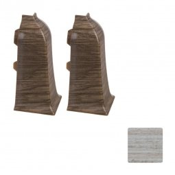 Наружный угол (блистер 2 шт.) Arbiton LM 60 58 Деревенский Дуб