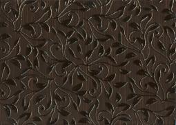 Декор Береза-керамика Глория коричневый 25х35