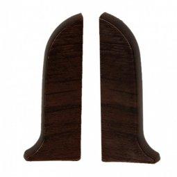 Заглушка торцевая левая и правая (блистер 2 шт.) Salag Венге 56