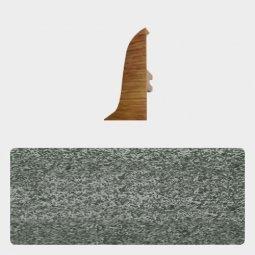 Заглушка торцевая правая (блистер 4 шт.) Т-пласт 088 Песчаник Серый