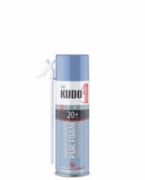 Монтажная пена Kudo Home 20+ бытовая всесезонная (650 мл)