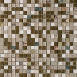 Мозаика Elada Crystal+Stone HK-43 серо-зеленый 32.7x32.7