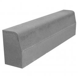Камень бордюрный Вибропрессованный 1000х300х150 Серый
