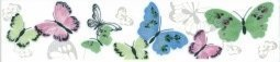 Бордюр Kerama Marazzi Праздник красок STG\A136\12037 25х5.5 бабочки
