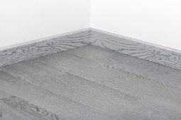 Плинтус Tarkett Шпонированный 80x20 P Art Silver Star