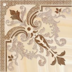 Декор Cersanit Agat AW6E012DT Коричневый 44X44