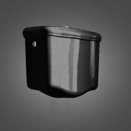 Бачок для унитаза Kerasan Retro настенный низкоуровневый черный