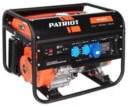 Генератор бензиновый Patriot GP-6510 5000/5500 Вт ручной запуск