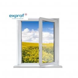 Окно ПВХ Exprof 600х600 мм одностворчатое П 1 стекло