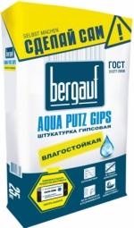 Штукатурка Bergauf Aqua Putz Gips гипсовая 25 кг