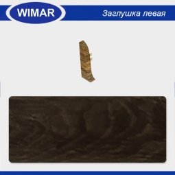 Заглушка торцевая левая Wimar 818 Дуб Гартвис