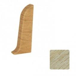 Заглушка торцевая правая (блистер 2 шт.) Elsi DIY 58 мм 625 Дуб Белый