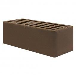 Кирпич лицевой керамический «Шоколад» пустотелый утолщенный
