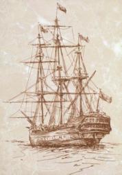 Декор ВКЗ Арго D «Корабль» 28x40