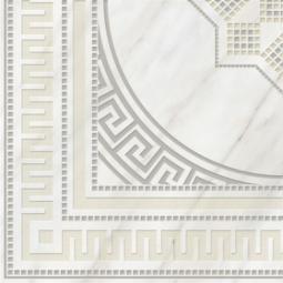 Вставка Golden Tile Каррара белый Е50810 400х400