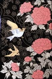 Декор Kerama Marazzi Ветка Сакуры декоры Цветы и птицы A1728\8141 20х30