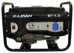 Генератор бензиновый Lifan 1.5GF-3 220В