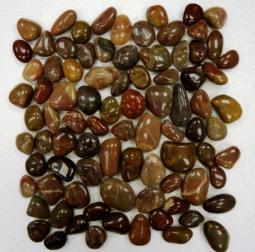 Мозаика Bonаparte Red jack коричневая глянцевая 30.5х30.5