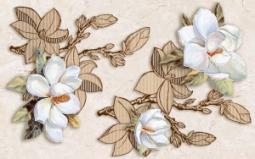 Декор Нефрит-керамика Сабина 04-01-1-09-03-11-632-0 40x25 Коричневый