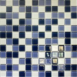 Мозаика Elada Crystal CB324 ультрамариновый микс 32.7x32.7