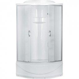 Душевая кабина Erlit Comfort ER1509T-C3 900х900х2150 мм матовое стекло