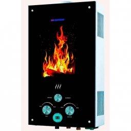 Водонагреватель газовый Edisson Flame F 20 GD (Костер)