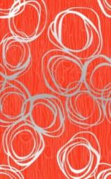 Декор Нефрит-керамика Вальс 04-01-1-09-03-45-106-0 40x25 Красный