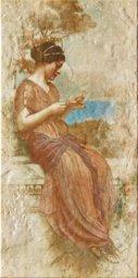 Декор Imola Pompei 1 36B1 бежевый 30х60