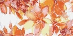 Декор Lasselsberger Нега 2 оранжевый 19,8х39,8
