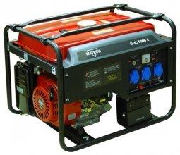Генератор бензиновый Elitech БЭС 5000 Е 4000/4500 Вт ручной/электрический запуск