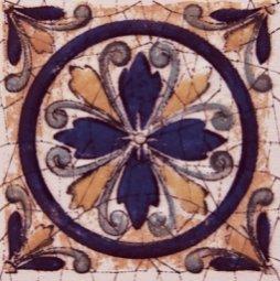 Вставка Сокол Олимпия D629 орнамент матовая 8х8