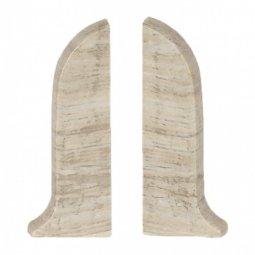 Заглушка торцевая левая и правая (блистер 2 шт.) Salag Дуб Кантри 56