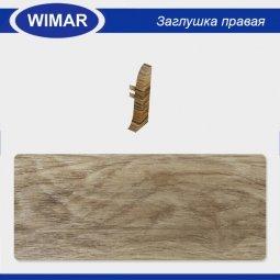 Заглушка торцевая правая Wimar 819 Дуб Летний