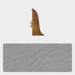 Заглушка торцевая левая Т-пласт 47 мм Сосна Серая