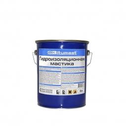 Мастика гидроизоляционная Bitumast металлическое ведро 5л