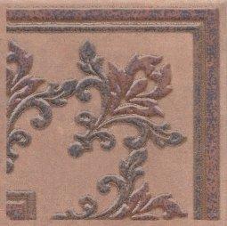 Вставка Kerama Marazzi Честер STG\B252\3414 14.7х14.7 коричневый темный