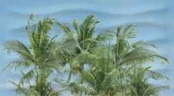 Декор Ceradim Skyline Dec Palm Panno A 25x45