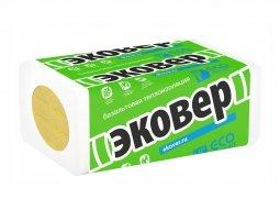 Базальтовый утеплитель Эковер Вент Фасад 90 100x600x1000/4 пл.