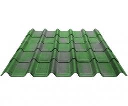 Черепица Ондувилла зеленый 3D 1060х400х3