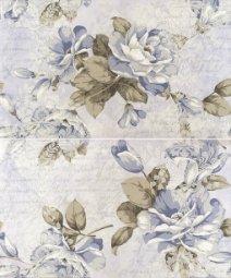 Панно Cracia Ceramica Melba Blue Panno 01 50x60