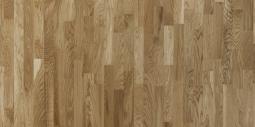 Паркетная доска Polarwood Classic Дуб Ливинг High Gloss 3-х полосная