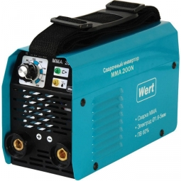 Инверторный сварочный аппарат WERT MMA 200N 130-260В
