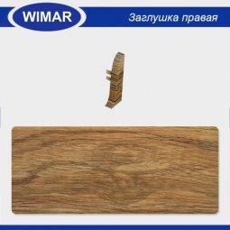 Заглушка торцевая правая Wimar 814 Дуб Колониальный