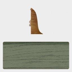 Заглушка торцевая левая (блистер 4 шт.) Т-пласт 069 Изумруд