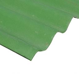 Шифер кровельный 8-волновой 1750х1130х5.2мм, зеленый