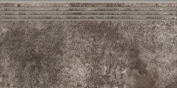 Ступени Kerranova Slate матовый темно-серый 29.4x60